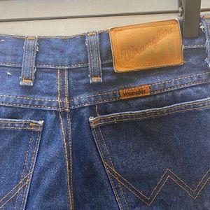 Vintage Orange Tag Wranglers Size 24